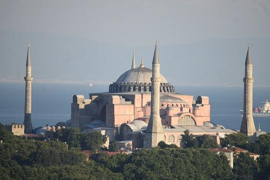 Santa Sofía una mezquita de nuevo