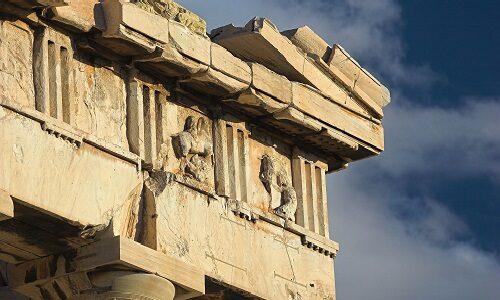 partes de la arquitectura griega