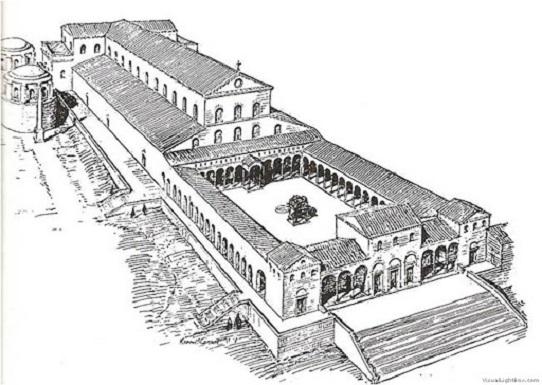 arquitectura arte paleocristiano