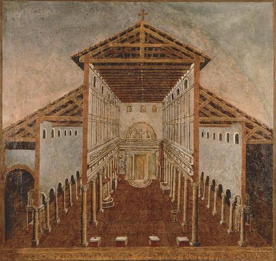 arquitectura paleocristiana ejemplos