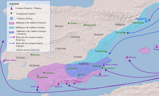 fenicia mapa